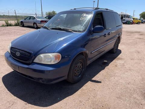 2005 Kia Sedona for sale at PYRAMID MOTORS - Pueblo Lot in Pueblo CO