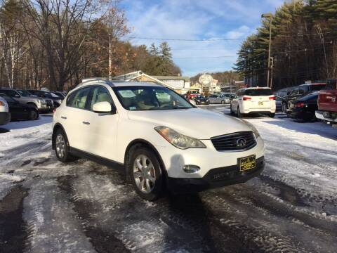 2008 Infiniti EX35 for sale at Bladecki Auto in Belmont NH