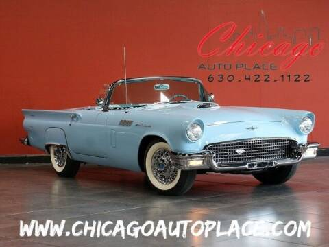 1957 Ford Thunderbird for sale at Chicago Auto Place in Bensenville IL