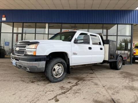 2005 Chevrolet Silverado 3500 for sale at South Commercial Auto Sales in Salem OR
