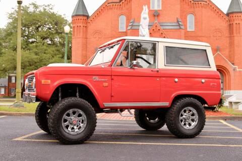 1975 Ford Bronco for sale at Dominique Auto Sales in Opelousas LA