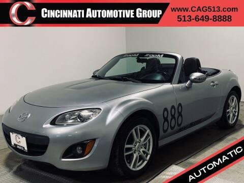 2010 Mazda MX-5 Miata for sale at Cincinnati Automotive Group in Lebanon OH