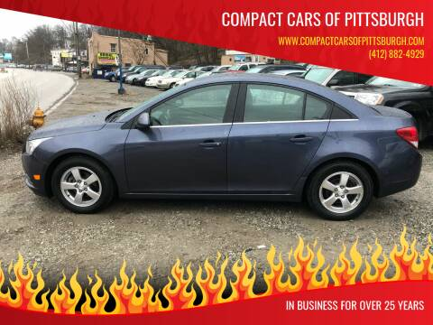 2014 Chevrolet Cruze for sale at Compact Cars of Pittsburgh in Pittsburgh PA