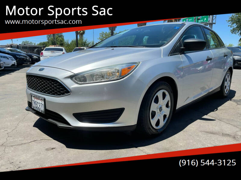 2015 Ford Focus for sale at Motor Sports Sac in Sacramento CA