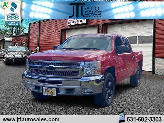 2013 Chevrolet Silverado 1500 for sale at JTL Auto Inc in Selden NY