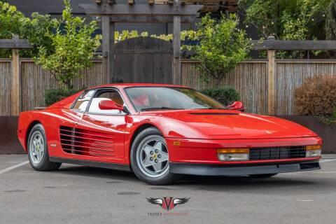 1991 Ferrari Testarossa for sale at Veloce Motorsales in San Diego CA