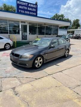 2007 BMW 3 Series for sale at Right Away Auto Sales in Colorado Springs CO
