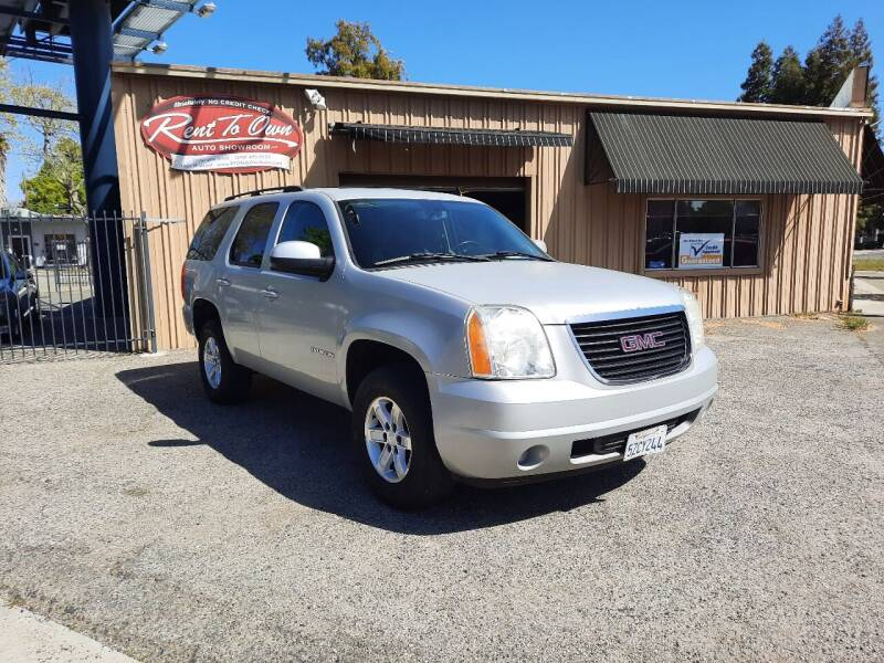 2007 GMC Yukon for sale at Rent To Own Auto Showroom LLC - Finance Inventory in Modesto CA