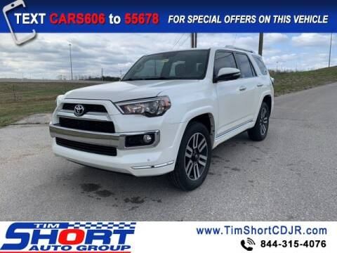 2015 Toyota 4Runner for sale at Tim Short Chrysler in Morehead KY