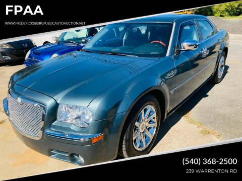 2005 Chrysler 300 for sale at FPAA in Fredericksburg VA