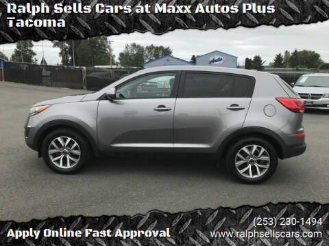 2015 Kia Sportage for sale at Ralph Sells Cars at Maxx Autos Plus Tacoma in Tacoma WA