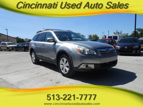2011 Subaru Outback for sale at Cincinnati Used Auto Sales in Cincinnati OH