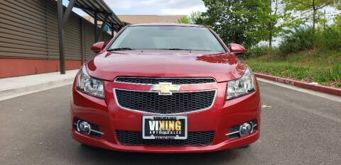 2014 Chevrolet Cruze for sale at VIking Auto Sales LLC in Salem OR