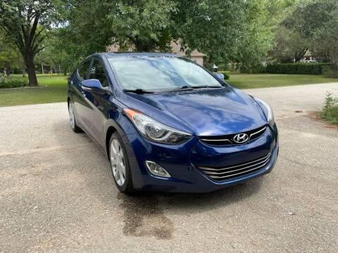 2013 Hyundai Elantra for sale at CARWIN MOTORS in Katy TX