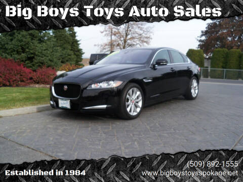 2019 Jaguar XF for sale at Big Boys Toys Auto Sales in Spokane Valley WA