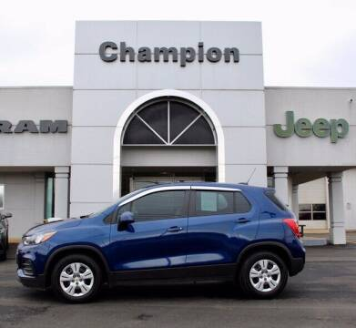 2017 Chevrolet Trax for sale at Champion Chevrolet in Athens AL
