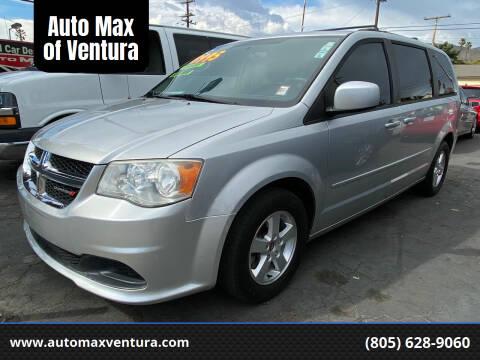 2012 Dodge Grand Caravan for sale at Auto Max of Ventura in Ventura CA