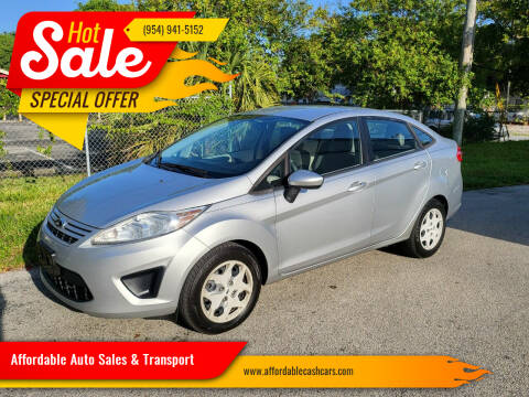 2013 Ford Fiesta for sale at Affordable Auto Sales & Transport in Pompano Beach FL