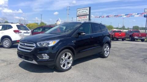 2019 Ford Escape for sale at Premier Auto Sales Inc. in Big Rapids MI