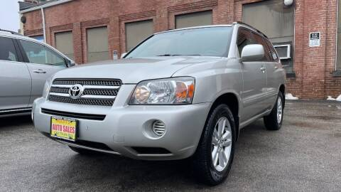 2006 Toyota Highlander Hybrid for sale at Rocky's Auto Sales in Worcester MA