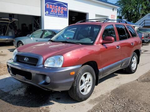 2004 Hyundai Santa Fe for sale at Ericson Auto in Ankeny IA