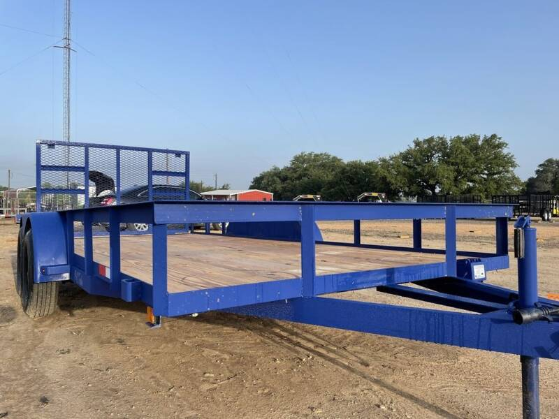 """2021 P & C - 83"""" X 16' - IN / OUT GA for sale at LJD Sales in Lampasas TX"""