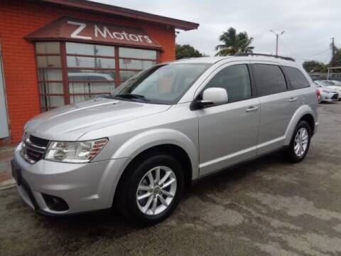2013 Dodge Journey for sale at Z MOTORS INC in Hollywood FL