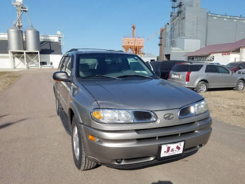 2002 Oldsmobile Bravada for sale at J & S Auto Sales in Thompson ND
