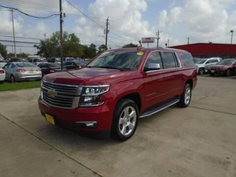 2015 Chevrolet Suburban for sale at BAS MOTORS in Houston TX