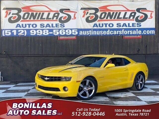 2012 Chevrolet Camaro for sale at Bonillas Auto Sales in Austin TX