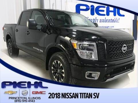 2018 Nissan Titan for sale at Piehl Motors - PIEHL Chevrolet Buick Cadillac in Princeton IL