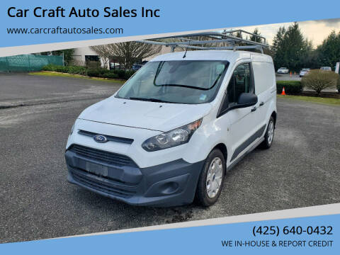 2015 Ford Transit Connect Cargo for sale at Car Craft Auto Sales Inc in Lynnwood WA