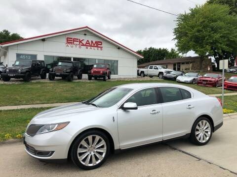 2014 Lincoln MKS for sale at Efkamp Auto Sales LLC in Des Moines IA