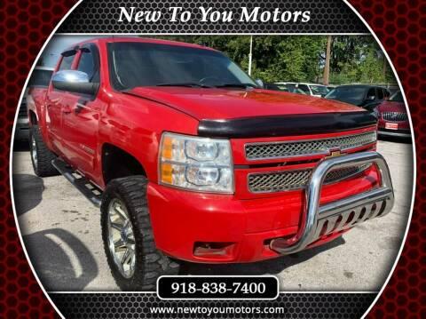 2012 Chevrolet Silverado 1500 for sale at New To You Motors in Tulsa OK