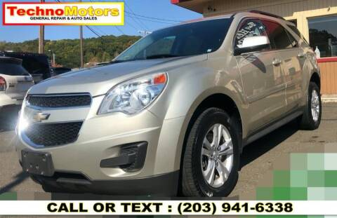 2015 Chevrolet Equinox for sale at Techno Motors in Danbury CT