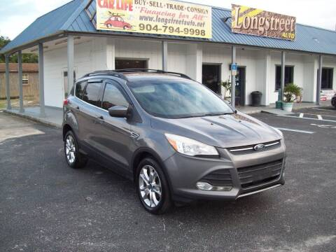 2013 Ford Escape for sale at LONGSTREET AUTO in St Augustine FL
