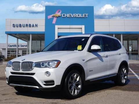 2017 BMW X3 for sale at Suburban Chevrolet of Ann Arbor in Ann Arbor MI