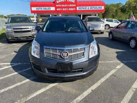 2010 Cadillac SRX for sale at Sandy Lane Auto Sales and Repair in Warwick RI
