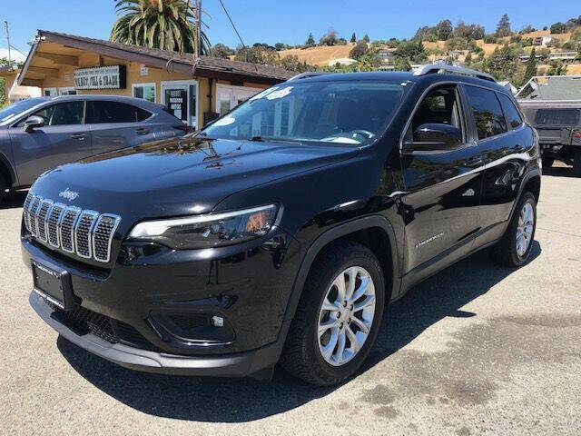 2019 Jeep Cherokee for sale at MISSION AUTOS in Hayward CA