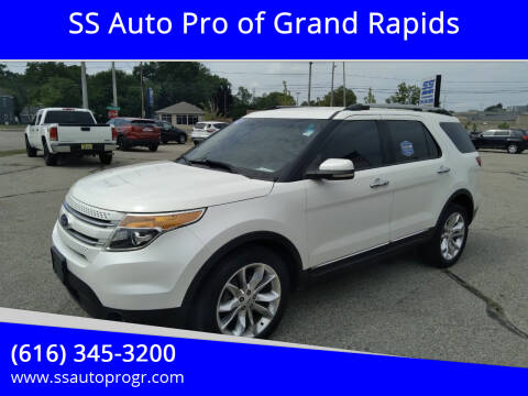 2012 Ford Explorer for sale at SS Auto Pro of Grand Rapids in Kentwood MI