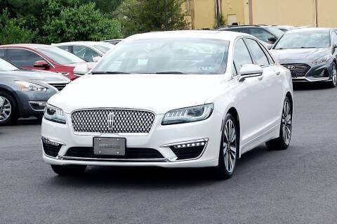 2018 Lincoln MKZ for sale at Avi Auto Sales Inc in Magnolia NJ