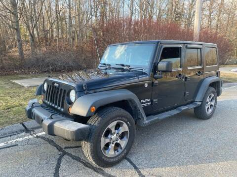 2013 Jeep Wrangler Unlimited for sale at Padula Auto Sales in Braintree MA