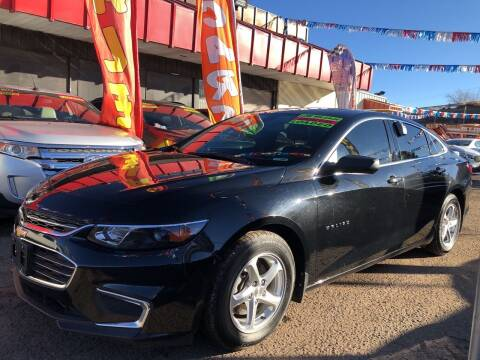 2017 Chevrolet Malibu for sale at Duke City Auto LLC in Gallup NM