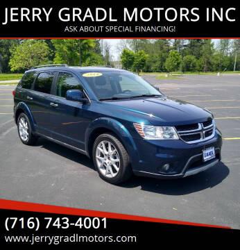 2014 Dodge Journey for sale at JERRY GRADL MOTORS INC in North Tonawanda NY