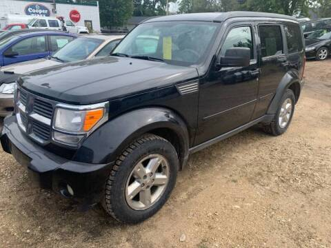 2007 Dodge Nitro for sale at Nelson's Straightline Auto - 23923 Burrows Rd in Independence WI