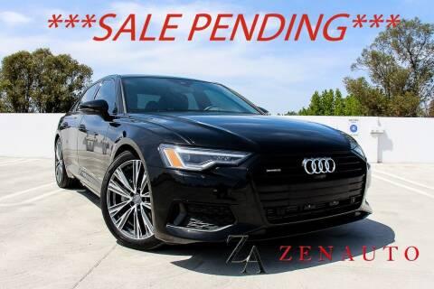 2020 Audi A6 for sale at Zen Auto Sales in Sacramento CA