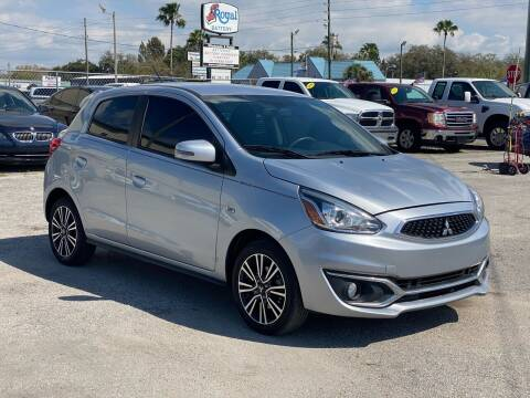 2018 Mitsubishi Mirage for sale at Marvin Motors in Kissimmee FL