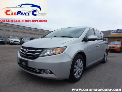 2014 Honda Odyssey for sale at CarPrice Corp in Murray UT