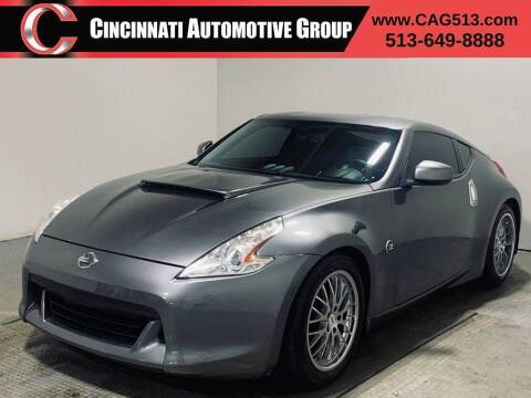 2012 Nissan 370Z for sale at Cincinnati Automotive Group in Lebanon OH
