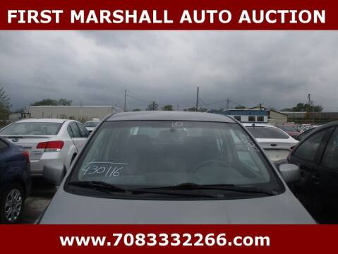 2010 Nissan Versa for sale at First Marshall Auto Auction in Harvey IL